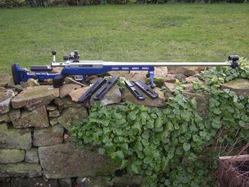 "Picture of HPS ""Convertible"" Fullbore & Smallbore Aluminium Rifle Stock"