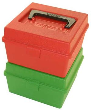 Picture of MTM Ammo Box Hinge Top with Handle (R100)