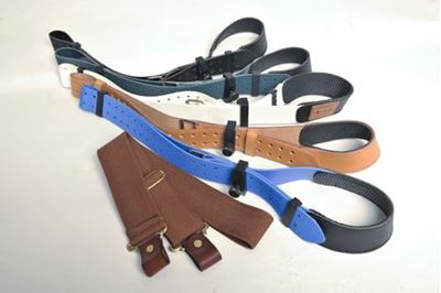 Picture of Leather Single Point Sling with Keeper 40mm