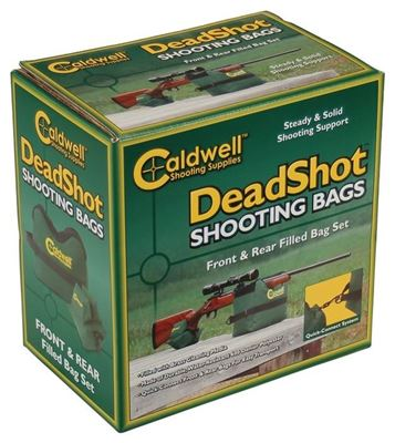 Picture of Deadshot Shooting Bag Front and Rear Filled Combo