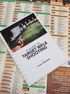 Picture of A Guide to Target Shooting by Harry Thompson Paperback book