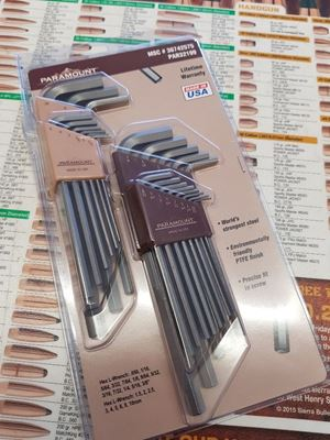 Picture of Hex Key/Allen Set- Metric and Imperial