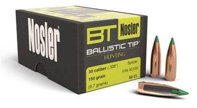 Picture of Nosler .30 x 150Grain Ballistic Tip (50ct) 30150