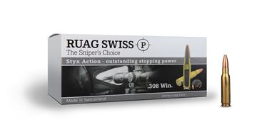 Picture of RWS .308 Win. 167Grain SWISS P Styx Action Ammunition (20rnd)