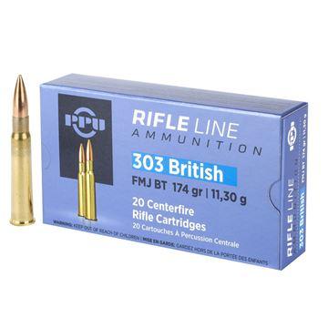 Picture of PPU .303 British 174 Grain Ammunition (20rnd)