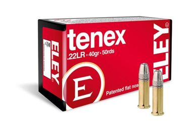 Picture of Eley Tenex .22 LR Ammunition (50rnd)