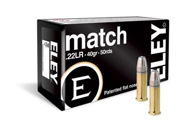 Picture of Eley Match .22 LR Ammunition (50rnd)