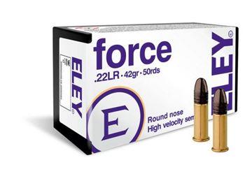 Picture of Eley Force .22 LR Ammunition (50rnd)