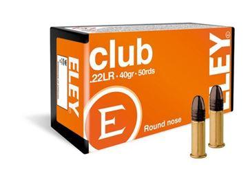 Picture of Eley Club .22 LR Ammunition (50rnd)