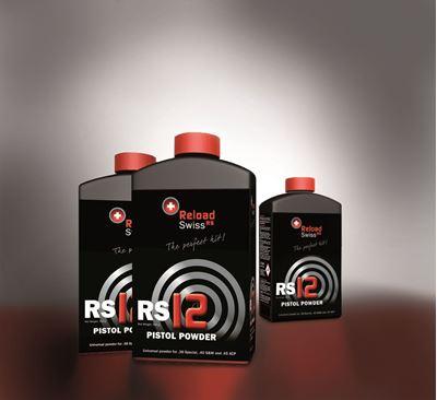 Picture of Reload Swiss RS12 Pistol Powder 1/2Kg Pot