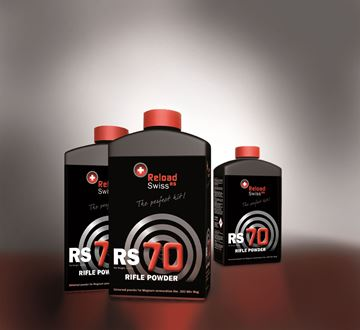 Picture of Reload Swiss RS70 Rifle Powder 1Kg Pot