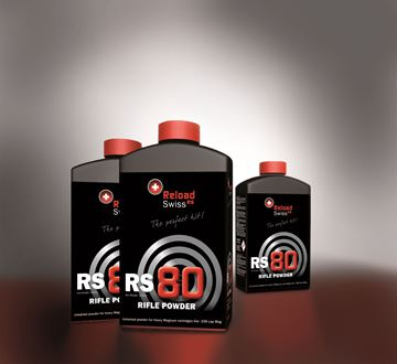 Picture of Reload Swiss RS80 Rifle Powder 1Kg Pot